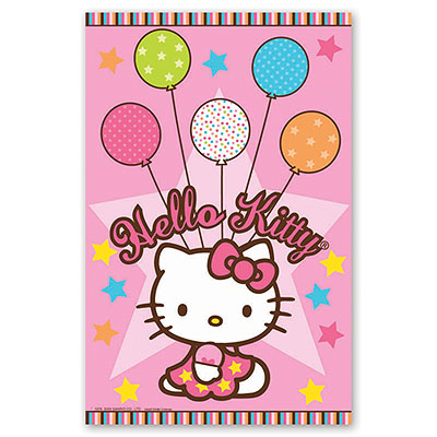 Скатерть п/э Hello Kitty 1,4*2,6 м