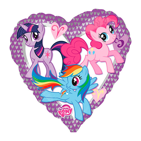 18С My Little Pony сердце S60